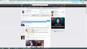 Profilo LinkedIn Efficace - condivisione terze parti