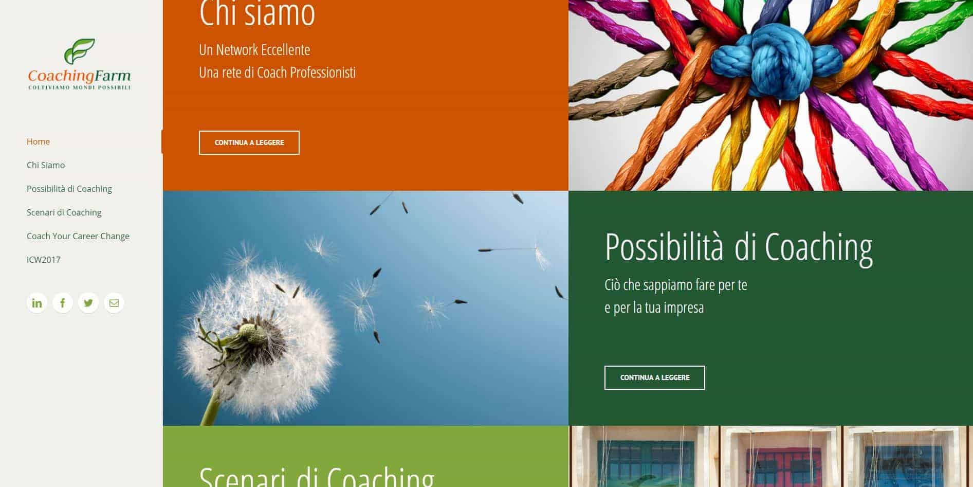 Siti web professionali di Coaching