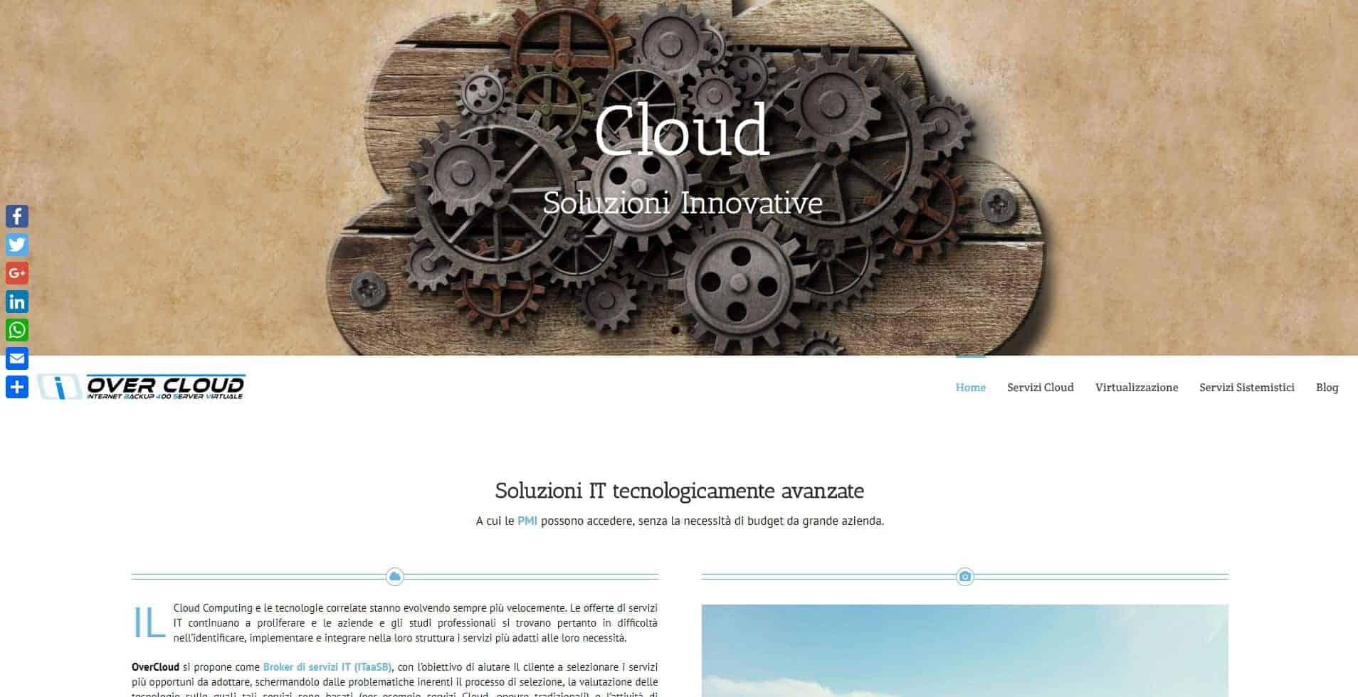Siti web per aziende informatiche